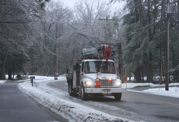 Icy Storm, Winter Power Outage